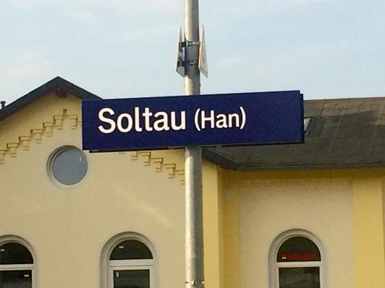 1807 CD Heidschnuckenweg Bahnhof Soltau