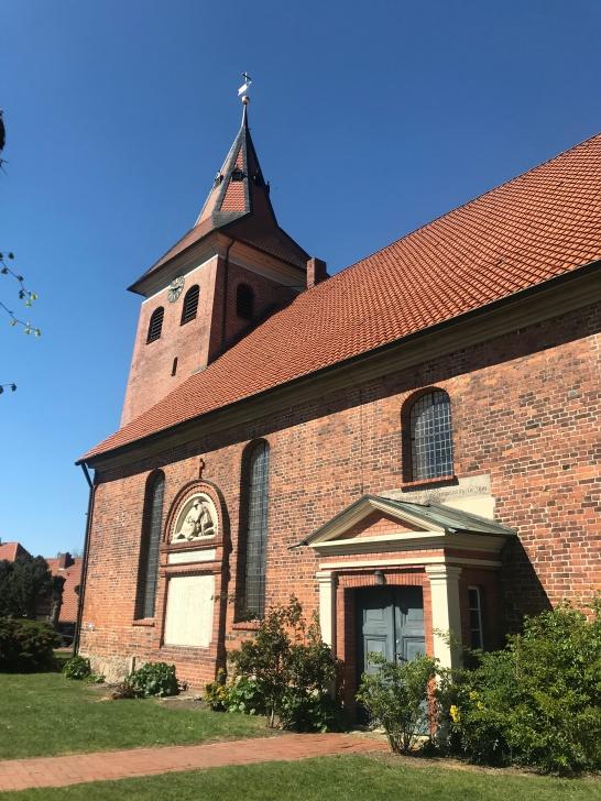 Die Kirche in Bleckede